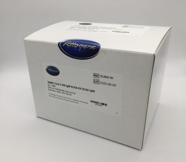SARS-CoV-2 (N) IgM ELISA Kit (SCSE-IgM) Product Image